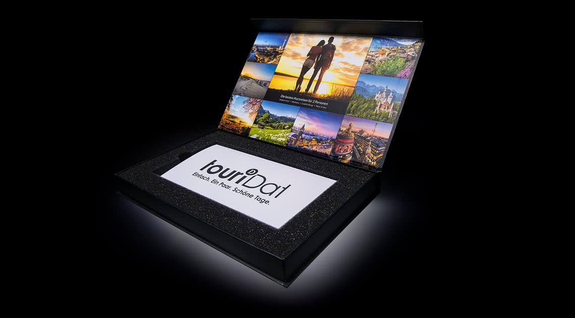 Die touriDat Geschenkbox premium